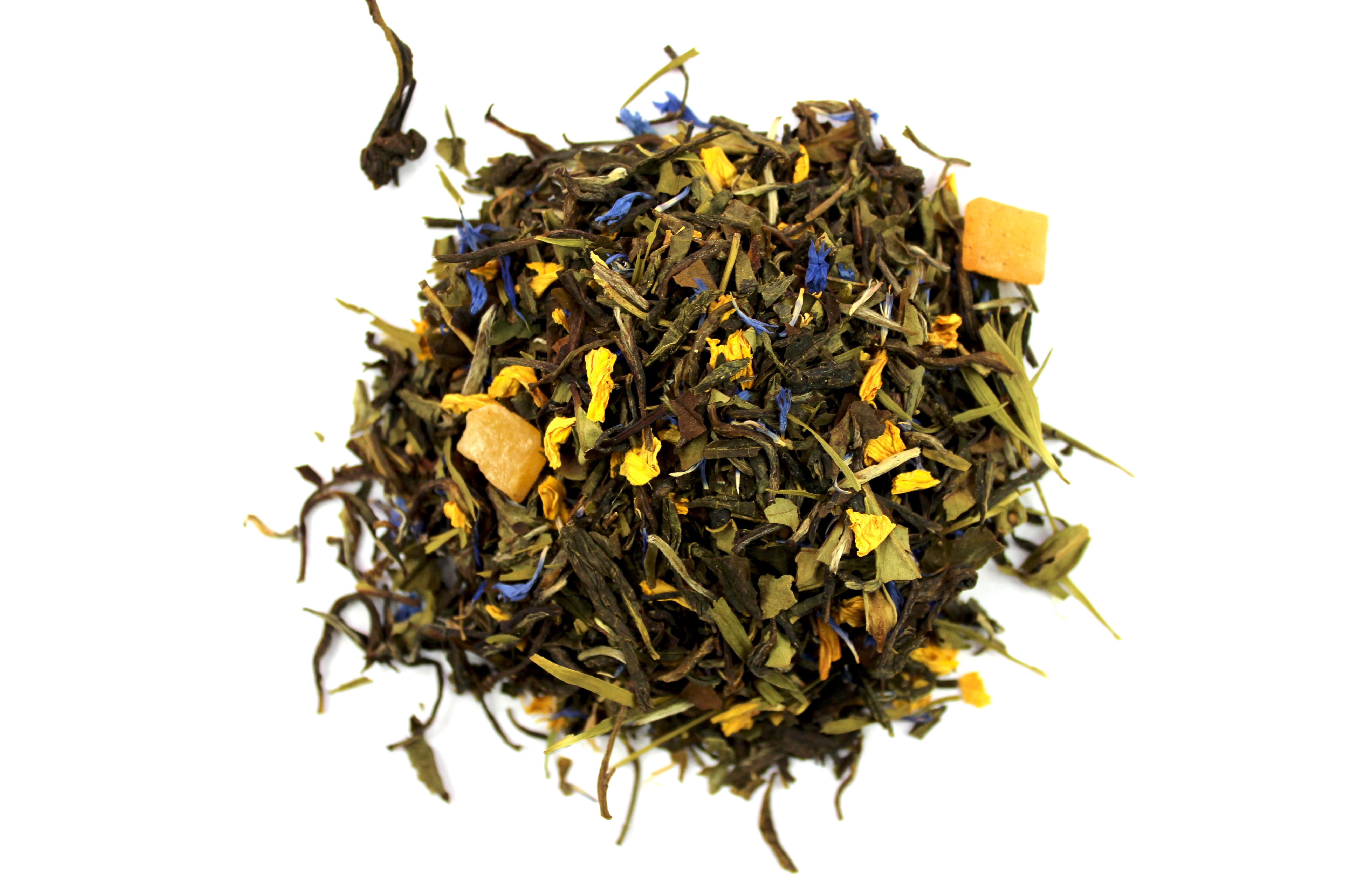 Le thé parfumé
