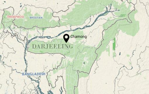 Carte Darjeeling Chamong