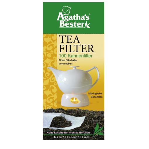 Filtre à thé pour théière