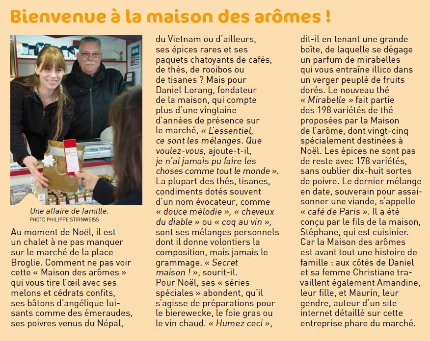 Article LMDA - décembre 2014 - Strasbourg