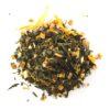 Thé vert orange praliné